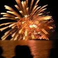 湖面の花火 2005